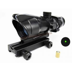Green Dot Fiber Optic Trijicon ACOG TA32 1x32 (Duel Power)