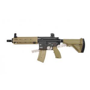 E&C 102S : HK 416 D สีทราย บอดี้เหล็ก JR.Custom Gen 3