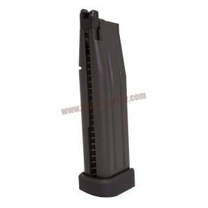 แม๊กกาซีนปืนสั้นอัดแก๊ส WE - Hi-Capa 5.1 สีดำ