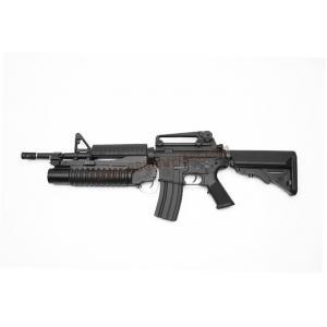 E&C 701S : M4A1 with M203 บอดี้เหล็ก JR.Custom Gen 2