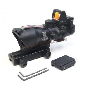 กล้อง 4x32 Trijicon ACOG TA31 ECOS (Red Fiber Optic)