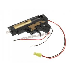 เกียร์บ๊อกสำเร็จ 7mm แบริ่ง V.2 สายไฟออกหลัง - DBOYS