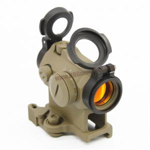 Red Dot Aimpoint Micro T-2 2MOA สีทราย + ขา 90 องศา