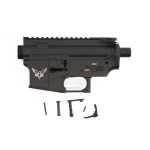 Body เหล็ก M4 ลาย NTD สีดำ - E&C