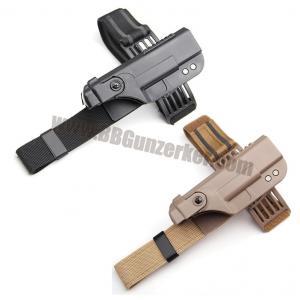 ซองปืนรัดต้นขาปลดไว Tactical สำหรับ Glock 17 18 19 21 22 23 26 30
