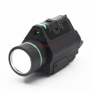 ไฟฉาย + เลเซอร์เขียว(กระพริบ) ติดปืนสั้น - Visionking