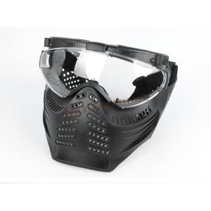 หน้ากาก Pro-Goggle เต็มหน้า มีพัดลมระบายอากาศ และไฟ LED