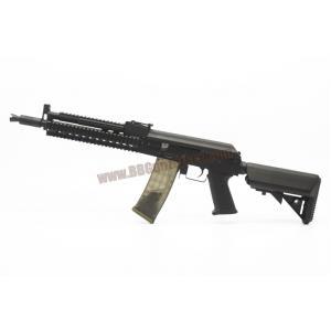 AK-105 Tactical RAS ท้าย M4 Crane สีดำ บอดี้เหล็ก - Golden Eagle 6830C