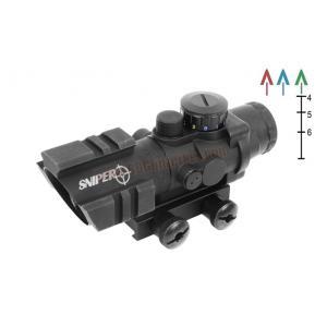กล้อง Scope Sniper 4x32 Compact CQB มีราง 3 ด้าน