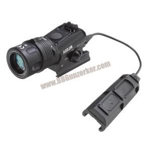 ไฟฉายติดปืน M720V มีสวิทซ์หางหนูแบบติดราง