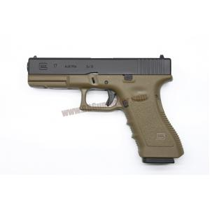 R17 : Glock17 Gen3 ทูโทนดำ/ทราย - ARMY Armament