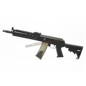 AK-105 Tactical RAS ท้าย M4 LE สีดำ บอดี้เหล็ก - Golden Eagle 6832C