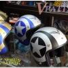 "DAMTRAX Helmets ""ฺBLACK STAR"""