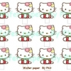 Wafer topper Kitty Stand up 4