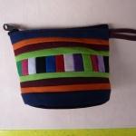 กระเป๋าผ้าฝ้าย กระเป๋าถือ ขนาดเล็ก 12 x 8 cm. 1