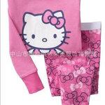 ชุดนอน Baby Gap ลาย Hello Kitty สีชมพู แขนยาว