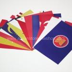 ธงกระดาษอาเซียน (ชนิดไม่มีก้าน)
