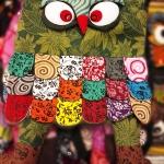 กระเป๋านกฮูก สะพายข้าง ใบใหญ่ขนาด Owl Bag 28 x 40 cm. 7