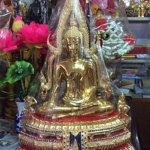 พระพุทธชินราชหน้าตัก12นิ้ว เนื้อทองเหลืองขัดมัน ขนาดหน้าตัก 12 นิ้ว รหัส00785
