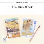 โปสการ์ดชุด Museum of Art - 30ใบ/เซ็ท