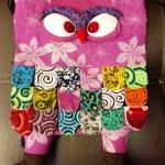 กระเป๋านกฮูก สะพายเป้ ใบใหญ่ขนาด Owl Bag 28 x 40 cm. 3