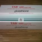 TAD (10Vial) กลูต้าจากอิตาลี่ แท้ดั้งเดิมจากอิตาลี่ มี10โดส มีไบโอฟลาวานอยด์ต้านอนุมูลอิสระทำให้ไม่แก่