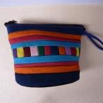 กระเป๋าถือ ผ้าฝ้าย ขนาดเล็ก 12 x 8 cm. 3