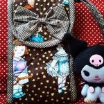 กระเป๋าแนวตั้งโบว์ตีนตุ๊กแก NO.3