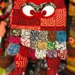 กระเป๋านกฮูก สะพายข้าง ใบใหญ่ขนาด Owl Bag 28 x 40 cm. 5