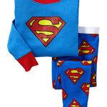 ชุดนอน Baby Gap ลาย Superman สีฟ้า แขนยาว