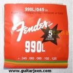 สายเบส Fender ชุด 5 สาย