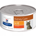 k/d feline 156 g โรคไตสำหรับแมว Exp.03/18