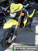 NEW KSR ปี54 สภาพสวยเดิม เครื่องดี สีเหลืองสุดเท่ ราคา 33,500