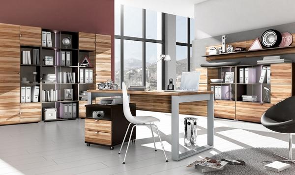 moderne schwarz weiße Büro Möbel