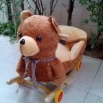 ส่งฟรี หมีเท็ดดี้ขนนิ่มขาไถ
