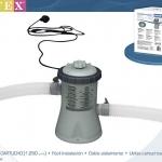 Intex เครื่องกรองน้ำสระน้ำ รุ่น 28602 (สีเทา) ส่งฟรี kerry