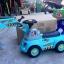 รถส่งฟรี !! รถขาไถ...แมคโครตักดินแบบนั่งได้ มีสีฟ้า thumbnail 3