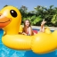 Intex Yellow Duck Ride-on แพยางเป็ดตัวใหญ่ แถมสูบลม ส่งฟรี kerry!! thumbnail 4