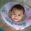 ห่วงยางช่วยว่ายน้ำสำหรับเด็กเล็ก (แบบสวมคอ) ลายหมี-สีชมพู Size M thumbnail 2