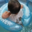 ห่วงยางพยุงหลังล็อค 2 ชั้นสีฟ้า Swimming Trainer สุดฮิต (6 เดือน - 2 ขวบ) ลายการ์ตูน thumbnail 2