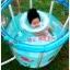 สระว่ายน้ำใสทรงสูง เสริมพัฒนาการ ขนาด 80x80 ซม.ครบเซ็ท*** ของแถมพิเศษ ห่วงยางสวมคอ + อ่างอาบน้ำเด็กเล็ก*** thumbnail 2