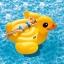Intex Yellow Duck Ride-on แพยางเป็ดตัวใหญ่ แถมสูบลม ส่งฟรี kerry!! thumbnail 3