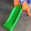 สไลเดอร์เล็ก พับเก็บได้ สีเขียว-ส้ม thumbnail 3