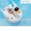 แพยางเป่าลมนกฟลามิงโก้ สีขาว ขนาดใหญ่ แถมฟรีที่สูบลม ส่งฟรี kerry !! thumbnail 1