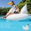 แพยางเป่าลมนกฟลามิงโก้ สีขาว ขนาดใหญ่ แถมฟรีที่สูบลม ส่งฟรี kerry !! thumbnail 3