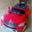 ส่งฟรี รถแบต mercedes benz ลิขสิทธิ์แท้ สีขาว/สีแดง thumbnail 4