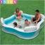 สระน้ำครอบครัวเป่าลม Intex พร้อมเก้าอี้นุ่มและพนักพิง ส่งฟรี kerry thumbnail 1