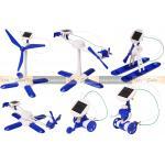 ของเล่นพลังงานแสงอาทิตย์ รุ่น 6-in-1 (สีฟ้า)