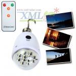 Easy usage 5 LED portable solar light