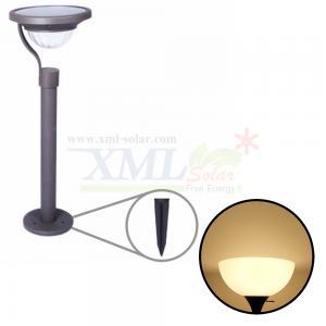 ไฟปักสนามโซล่าเซลล์ 2 SMD LED (เเสง : เหลืองวอมไวท์)